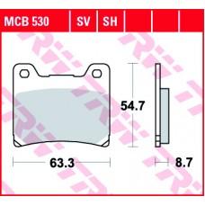 TRW Remblokken MCB530 SH