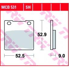 TRW Remblokken MCB531 SH