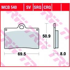 TRW Remblokken MCB540 SV