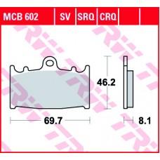 TRW Remblokken MCB602
