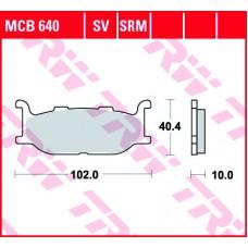 TRW Remblokken MCB640