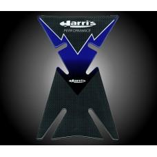 Tankpad - Harris - Yamaha YZF Blauw