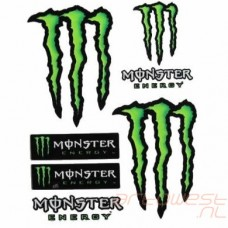 Monster Stickervel 20x24 cm