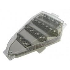 Transparant LED Achterlicht + LED Knipperlichten - Yamaha R6 06-07